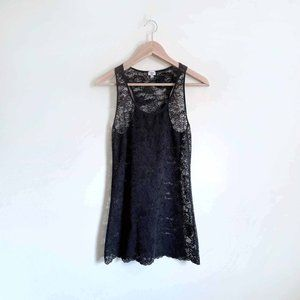 Wilfred stretch lace layering tank top - Medium